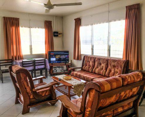 Vakantiehuis-Suriname-Parima-Woonkamer